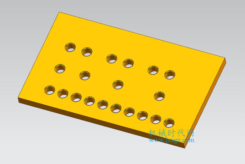 NX建模(20):NX阵列特征的用法