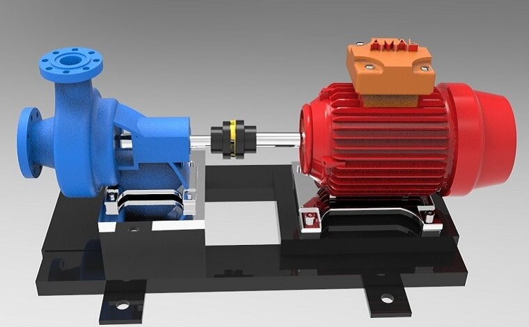 Creo马达和泵模型下载
